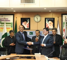 امضا تفاهمنامه همکاری بورس كالای ايران با بورس كالای پاكستان