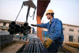 نزول قیمت فولاد در بورس آتی شانگهای