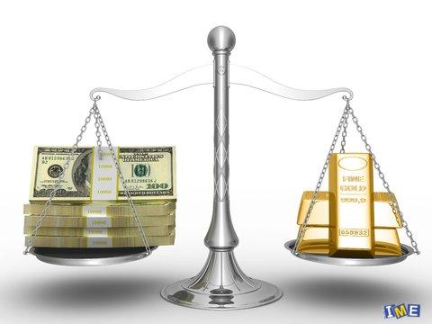 اونس و دلار
