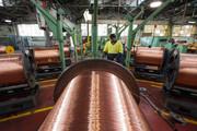 رشد ۳۳ درصدی تولید مس سومین تولیدکننده بزرگ جهان
