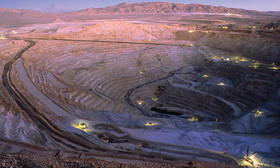 تولید مس یک معدن در شیلی متوقف شد