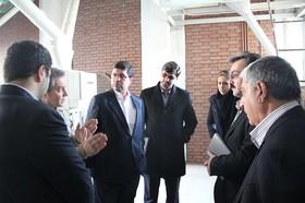 بازدید مدیرعامل بورس کالای ایران از کارخانه آرد تابان