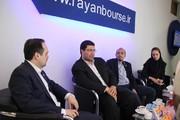 بازدید مدیر عامل بورس کالای ایران از دهمین نمایشگاه بورس، بانک و بیمه