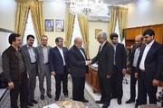 دیدار هیات تجاری بورس کالا با سفیر ایران در عراق