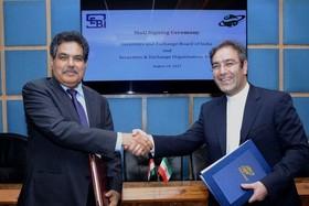 موافقتنامه خرید و فروش محصولات در بورس های کالایی ایران و هند