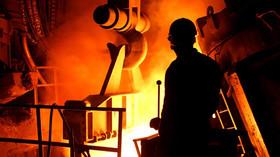 کاهش موجودی فولاد در بازار چین