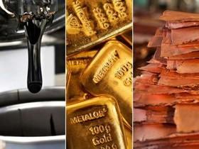 نفت و فلزات اساسی در سراشیبی قیمت