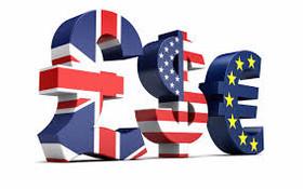 رشد سه گانه دلار، یورو و پوند