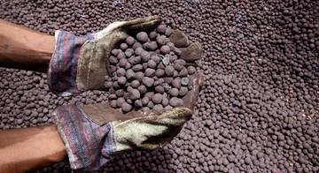 تولید ۷ ماهه گندله سنگ آهن از ۱۸ میلیون تن عبور کرد