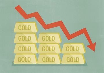 کاهش قیمت طلا ادامه دارد