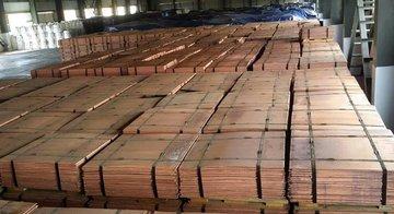 آغاز افزایش قیمت مس در بورس فلزات لندن