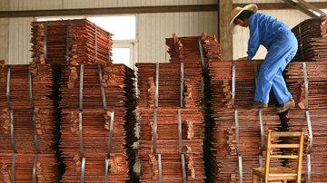 کاهش یک درصدی تولید معدنی مس در جهان