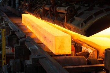 معامله بیش از ۲۰۰ هزار تن شمش بلوم و تختال در بورس کالا