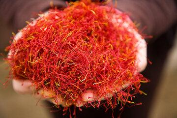 گشایش یک انبار جدید زعفران با ظرفیت ۶ تن