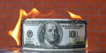 دلار عقب رانده شد