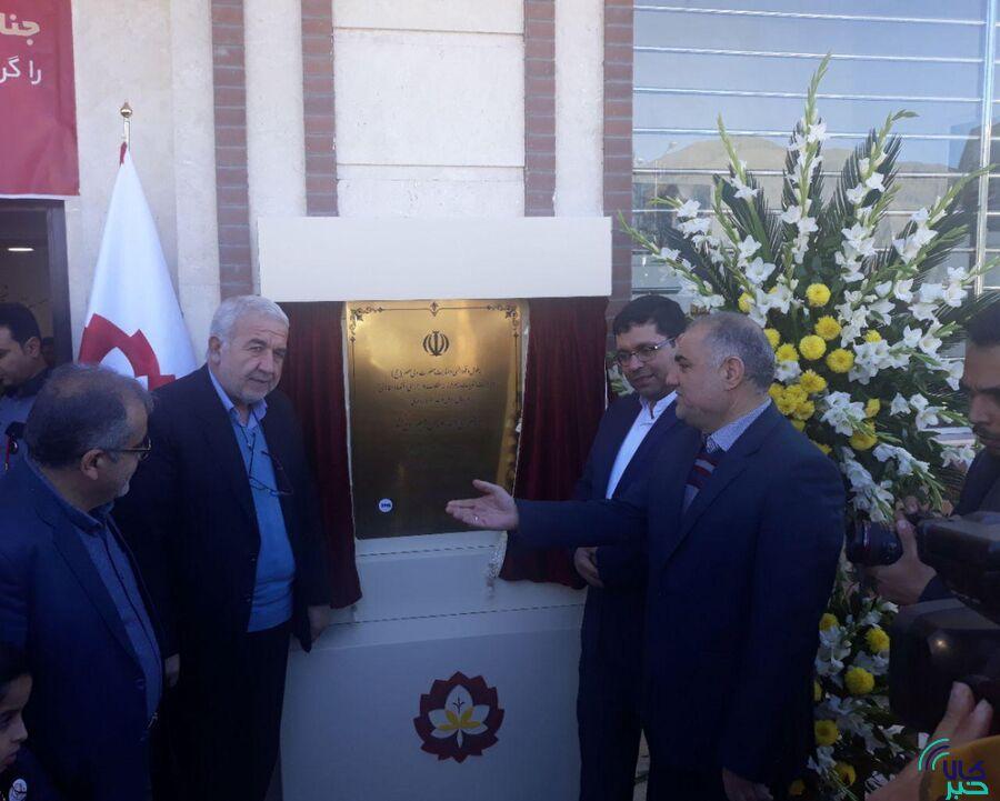 افتتاح انبار زعفران شرکت طلای سرخ گلشید ایرانیان در تربت حیدریه