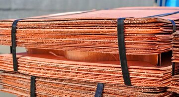 قیمت مس در بورس فلزات لندن کاهش یافت