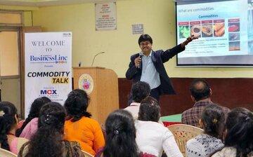 آشنایی دانشجویان با بورس چند کالایی هند
