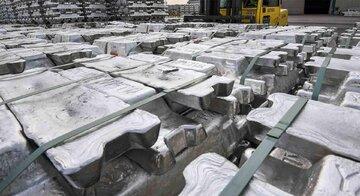 کاهش ۵۲ دلاری قیمت آلومینیوم در یک هفته