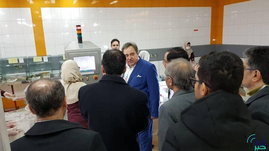 بازدید اعضای هیات مدیره بورس کالا از انبارهای زعفران مشهد