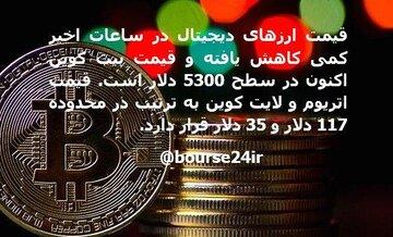 قیمت روز ارزهای دیجیتال