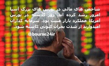 شاخص های مالی در بورس های آسیا