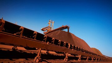 تولید سنگ آهن واله به ۴۵۰ میلیون تن می رسد