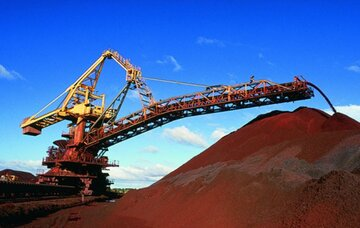 پرواز قیمت سنگ آهن در چین