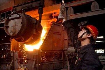 کاهش قیمت فولاد چین طی هفته جاری