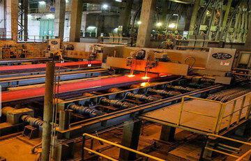عرضه ۸۲۰ هزار تنی فولاد هرمزگان در بورس کالا طی سال ۹۹