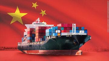 تجارت خارجی چین افزایش یافت