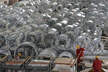 بهای ورق گرم صادراتی چین بالا رفت