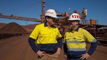 افزایش تولید سنگ آهن ریو تینتو