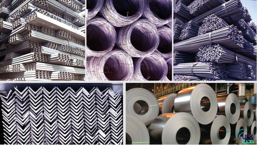 محصولات فولادی