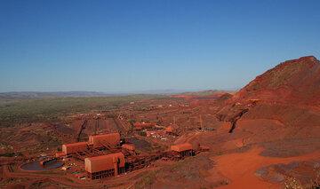 تولید سنگ آهن واله کمتر از برآوردهای قبلی شد