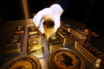 قیمت طلای جهانی بالا رفت