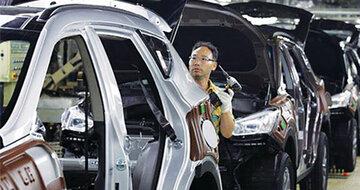 صنعت خودرو چین رو به بهبود