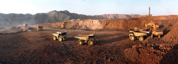 تولید سنگ آهن واله به ۴۰۰ میلیون تن می رسد