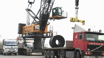 افزایش صادرات فولاد آمریکا