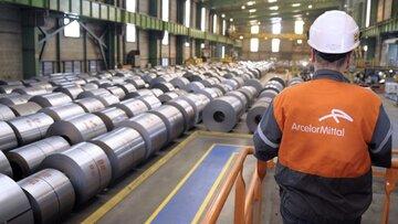 افزایش قیمت انواع ورق فولادی آرسلورمیتال به مشتریان اروپایی