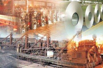 روند افزایشی صادرات محصولات معدنی فلزی / شمش فولادی و کاتد مس در صدر محصولات صادر شده