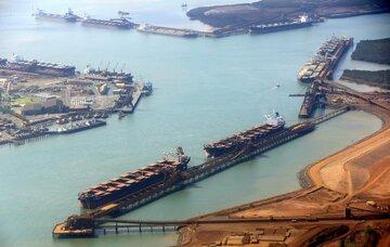 جهش ۵۷ درصدی بهای جهانی سنگ آهن