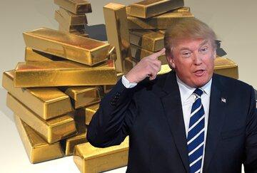 اثر حال ترامپ بر قیمت طلا