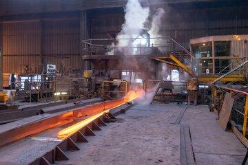عرضه ۴۵ هزار تن انواع فولاد در بورس کالا