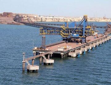 کاهش واردات سنگ آهن چین در ماه اکتبر
