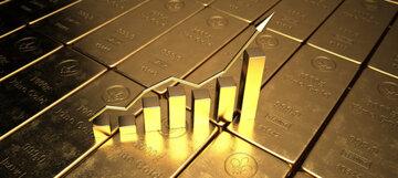 رشد جزئی بهای طلا