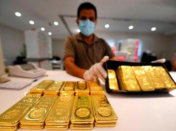 قیمت طلا به کمترین سطح ۴ ماه گذشته رسید