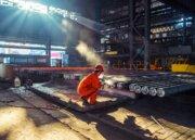 محدودیت تولید فولاد در چین