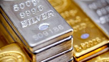 شکاف قیمت نقره و طلا در کمترین سطح از سال ۲۰۱۴
