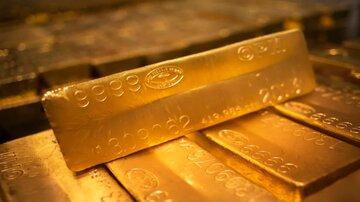 طلا در پایین ترین سطح ۷ ماه گذشته قرار گرفت